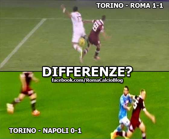differenze torinoroma torinonapoli